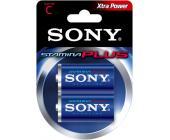 Батарейка Sony, LR14, C, 2шт/<wbr>уп.