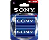Батарейка Sony, LR20, D, 2шт/уп. | OfficeDom.kz