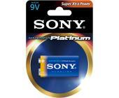 Батарейка Sony Platinum, 6LR61, 9V, Крона, 1шт/<wbr>уп.