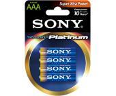 Батарейки Sony Platinum, AAA/<wbr>LR3, 4 шт/<wbr>уп | OfficeDom.kz