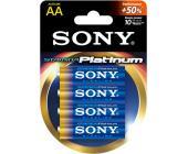 Батарейки Sony Platinum, AA/LR6, 4 шт/уп | OfficeDom.kz
