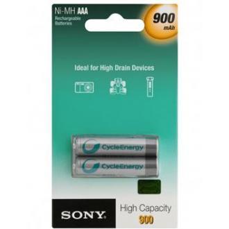 Аккумуляторы Sony ААA, NH-900 мА, 2 шт/<wbr>уп - Officedom (1)