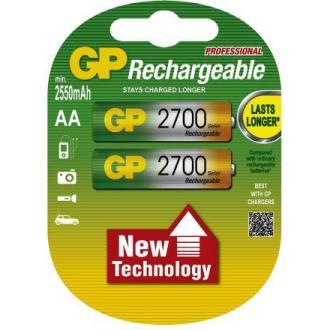 Аккумуляторы GP АA, NH-2700 мАh, 2 шт/<wbr>уп - Officedom (1)