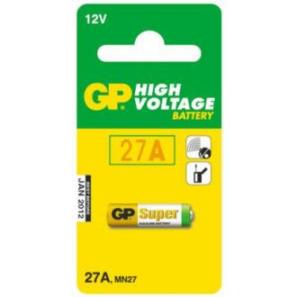 Батарейки GP Ultra Alkaline 27AE, 12V, 1 шт/<wbr>уп - Officedom (1)