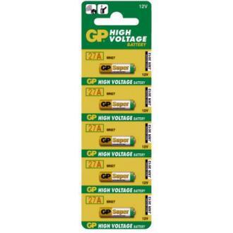 Батарейки GP Ultra Alkaline 27AE, 12V, 5 шт/<wbr>уп - Officedom (1)