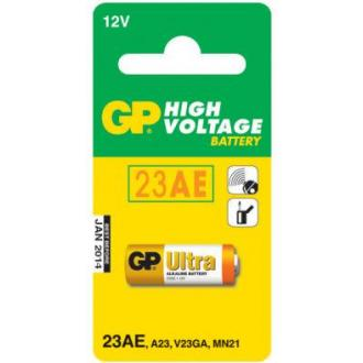 Батарейки GP Ultra Alkaline 23AE, 12V, 1 шт/<wbr>уп - Officedom (1)