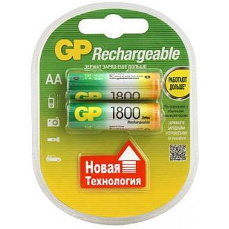 Аккумуляторы GP АA, NH-1800 мАh, 2 шт/<wbr>уп - Officedom (1)