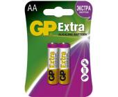 Батарейки GP Extra Alkaline, AA/<wbr>LR6, 2 шт/<wbr>уп | OfficeDom.kz