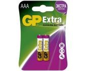 Батарейки GP Extra Alkaline, AAA/<wbr>LR03, 2 шт/<wbr>уп | OfficeDom.kz
