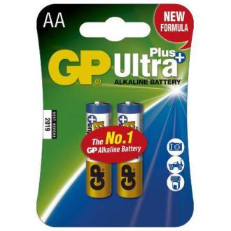 Батарейки GP Ultra Alkaline AA/<wbr>LR6, 2 шт/<wbr>уп - Officedom (1)