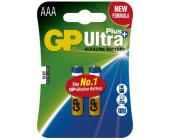 Батарейки GP Ultra Alkaline AAA/<wbr>LR03, 2 шт/<wbr>уп | OfficeDom.kz