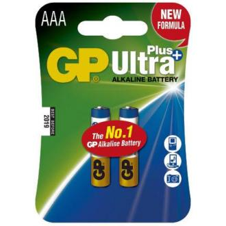 Батарейки GP Ultra Alkaline AAA/<wbr>LR03, 2 шт/<wbr>уп - Officedom (1)