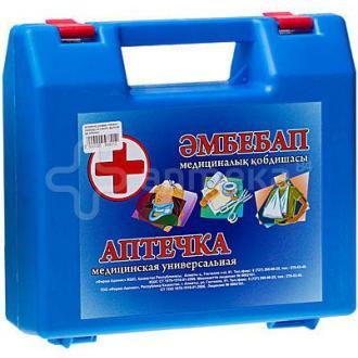 Аптечка универсальная, в пластик. коробке - Officedom (1)