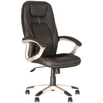Кресло для руководителя FORSAGE, ECO-30, черный - Officedom (1)