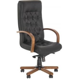 Кресло для руководителя FIDEL, LUX EX LE-A, 1.031, черный - Officedom (1)
