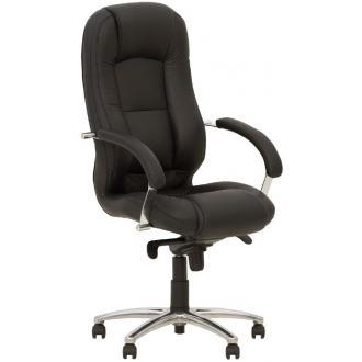 Кресло для руководителя MODUS STEEL CHROME, черный - Officedom (1)