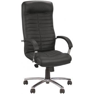 Кресло для руководителя ORION STEEL CHROME LE-A, черный - Officedom (1)