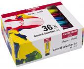 Набор акриловых красок, AMSTERDAM STANDART, 36*20 мл, | OfficeDom.kz
