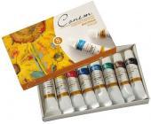 Набор масляных красок Сонет, 8 цв. х 10 мл | OfficeDom.kz
