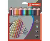 Карандаши цветные STABILOaquacolor (24шт) | OfficeDom.kz