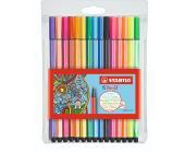 Фломастеры STABILO Pen 68 15 шт | OfficeDom.kz