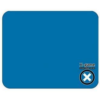 Коврик для мыши X-Game SLKRUB BLUE.P силиконовый, 217х177х1 мм, голубой - Officedom (1)