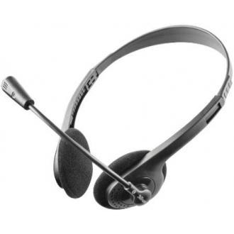 Наушники для компьютера TRUST HS-2100 с микрофоном, черный (11916) - Officedom (1)