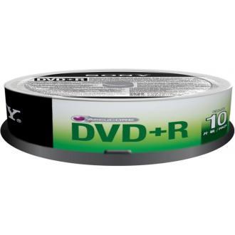 Диск записываемый DVD+R Sony, 16X4.7GB, 10шт/<wbr>упак. - Officedom (1)