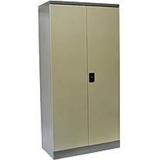 Двудверый шкаф President CBH01, серый, метал. - Officedom (1)