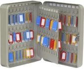 Ящик на 96 ключей с замком, КС-96, серый | OfficeDom.kz