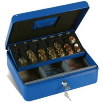 Монетница Technomax Elegant Euro 4E, 90х300х240 мм, синий - Officedom (1)