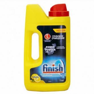 Моющее средство для посудомоечных машин Finish, 1кг, лимон - Officedom (1)