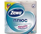 Бумага туалетная Zewa Плюс, 4 шт/<wbr>уп, 2 сл., белая | OfficeDom.kz