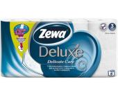 Бумага туалетная Zewa Deluxe, 8 шт/уп., 3 сл., Delicate Care | OfficeDom.kz