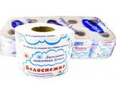"Бумага туалетная Карина ""Белоснежка"", 2-х слойная, белая с рисунком | OfficeDom.kz"