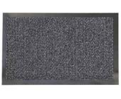 Коврик резиновый с ковролином Faro 04, 60х90 см, темно-серый | OfficeDom.kz