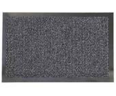Коврик резиновый с ковролином Faro 04, 90х150 см, темно-серый | OfficeDom.kz