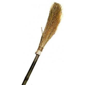 Метла чий с деревянной ручкой - Officedom (1)