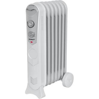 Масляный радиатор SC-1150 7 секций, 1500Вт - Officedom (1)
