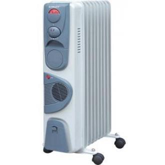 Масляный радиатор SC-1153 9 секций, тепловентилятор - Officedom (1)