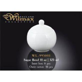 Сахарница Wilmax 325мл., белый - Officedom (1)