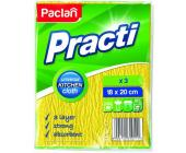 Салфетка губчатая Paclan Practi Kitchen, трехслойная, 18х20 см, 3 шт/уп | OfficeDom.kz