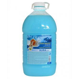 Мыло жидкое Аура, бидон, 5 л, морские минералы - Officedom (1)