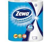 Бумажные полотенца Zewa, 2 слоя, 2 рул/упак, белые | OfficeDom.kz