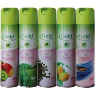 Освежитель воздуха Gold wind Зеленая трава, 300 мл - Officedom (1)