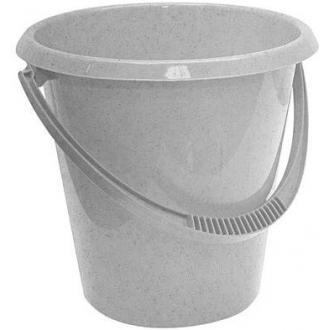 Ведро пластмассовое хозяйственное, 7л, ассорти (М2407) - Officedom (1)