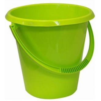 Ведро пластмассовое хозяйственное, 17л, ассорти (М2409) - Officedom (1)