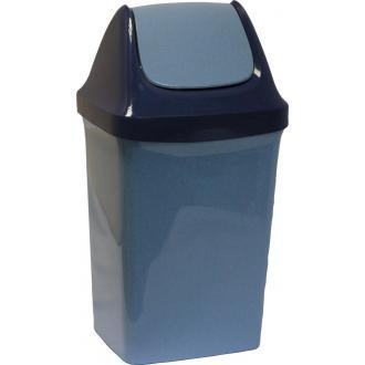 Бак для мусора с плав. крышкой Свинг, 15 л. (М2462) - Officedom (1)