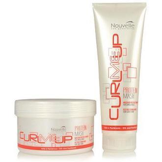 Маска для сухих и чувствительных волос CURLMEUP Protein, 250 мл, Nouvelle - Officedom (1)