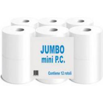 Бумага туалетная mini jumbo 2 слоя, 154 м, PP-JL8K050/<wbr>N, (Paper Divipac) - Officedom (1)